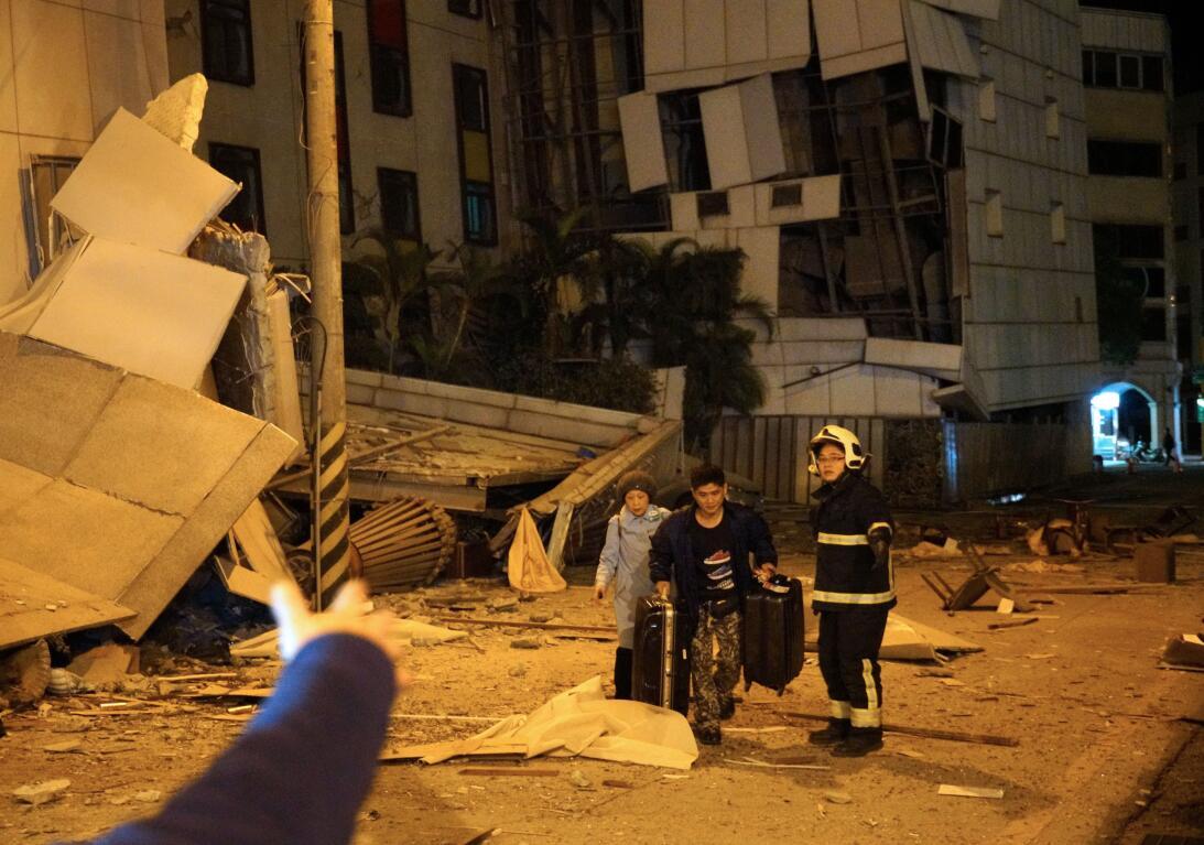 Terremoto Taiwan
