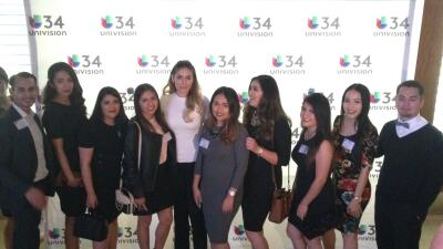 United Latinos Students en Univision