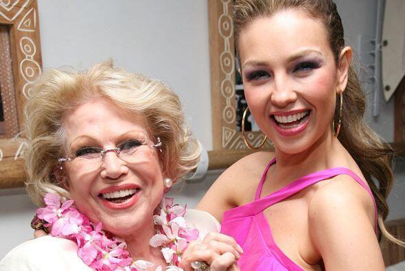 El 27 de mayo de 2011 Thalía sufrió la muerte de su mamá, la señora Yola...