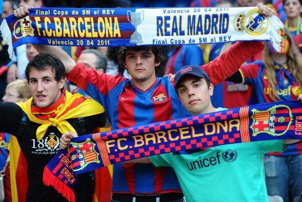 Llegó el día esperado, la Final de la Copa del Rey 2011, con el choque e...