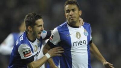 Danilo marcó uno de los goles del Oporto.