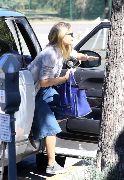 Gwyneth Paltrow en el salón de belleza