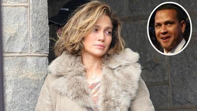 Jennifer López filma su nueva película en Nueva York mientras que Alex R...