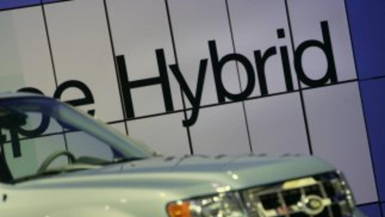 La Ford Escape Híbrida se destaca en la categoría SUV pequeñas.