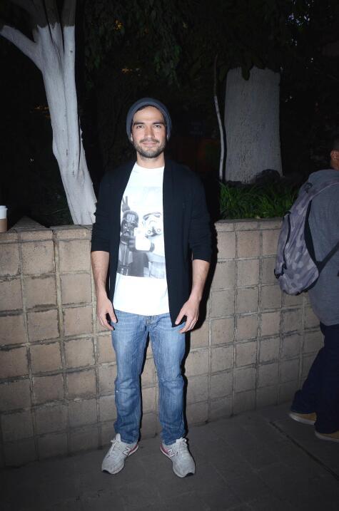 Poncho Herrera fue uno de los invitados al estreno de la obra.