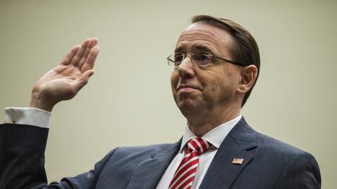 El vice fiscal general Rod Rosestein testificó el miércoles 13 de diciem...