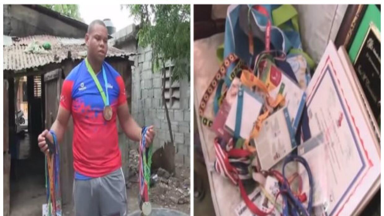 Atleta dominicano que ganó bronce en los juegos Panamericanos