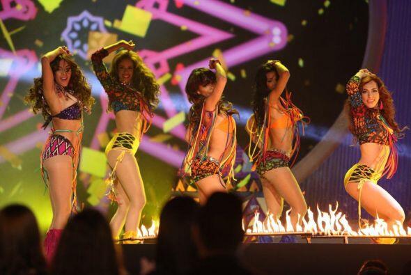 Las bellezas abrieron con tremendo 'performance', todas lucieron muy sen...