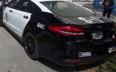 Cadetes menores de edad se robaron tres patrullas de la policía de Los Á...