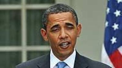 El presidente Barack Obama dijo no tener intenciones de ayudar a Califor...