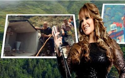 Pedro y Lupillo Rivera grabaron videos musicales en el sitio donde cayó...