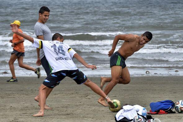 Pero aquí lo que importa es el soccer, así que disfrutaron como si estuv...