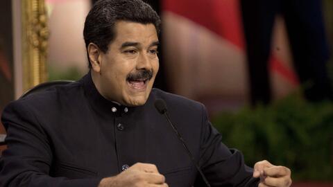Nicolás Maduro ha enfilado sus baterías contra los vestigi...