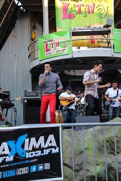 Estos grandes artistas estuvieron presentes en el Six Flags Festival Lat...