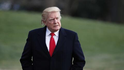 La Casa Blanca anunció que Trump asistirá a la cumbre de la OTAN en Brus...