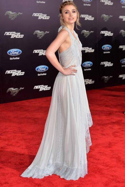 Si tienes la piel muy blanca como Imogen Poots, de la película Need For...