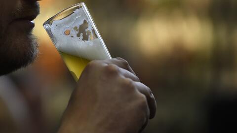 """""""Fueron 43 años los que viví sumergido en el alcohol. Y lo..."""