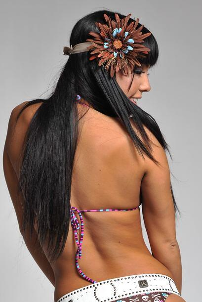 Esta bella colombiana es modelo y se fue muy contenta con su desempeño e...