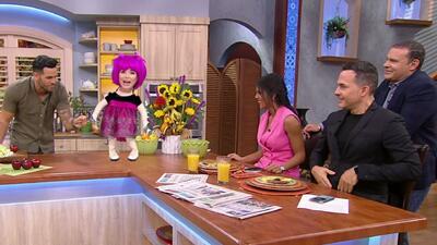 Fresita llegó lista para hacernos llorar de risa con su repertorio de chistes (que este día se hizo más grande)