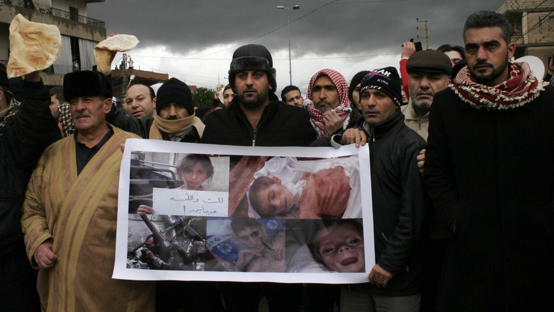 Imágenes de los niños sirios