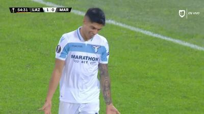 ¡GOOOL! Joaquín Correa anota para Lazio
