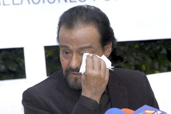 En 2011 dio una conferencia de prensa y anunció que había pasado por dif...