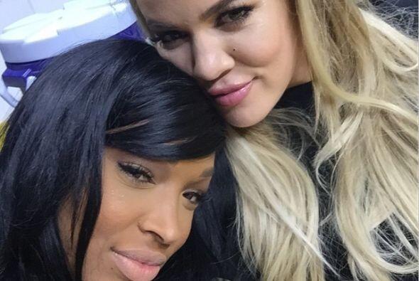 Una de ellas, Malika, la mejor amiga de Khloé Kardashian.