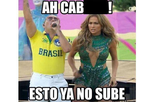 """Mira los divertidos """"memes"""" de la inauguración con J.Lo y Pitbull. Todo..."""