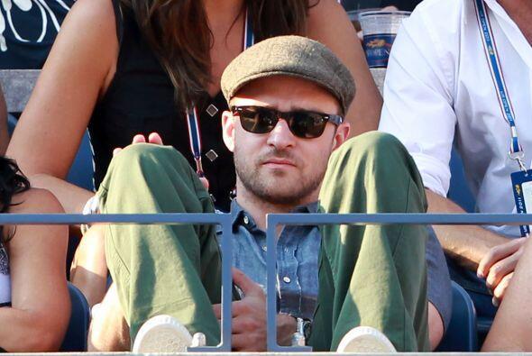Justin Timberlake asistió a la cita neoyorquina.