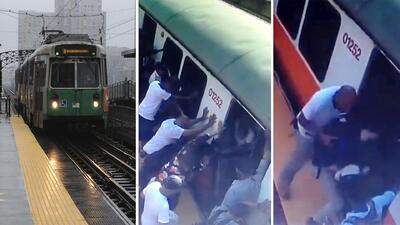 """(VIDEO) Mujer a la que el tren le arrancaba la pierna pedía que """"no llamen a la ambulancia, es muy caro"""""""