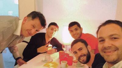 El DT de México se junto con Layún, Herrera y Corona