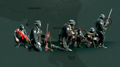 Los Dragunov, los rifles rusos que están matando a los manifestantes en Nicaragua