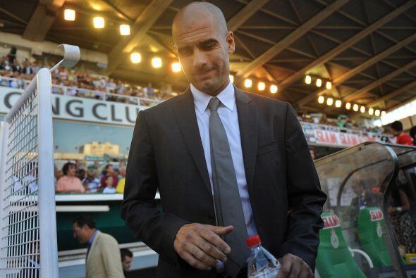 Los dirigidos por Josep Guardiola visitaron el estadio del Racing.