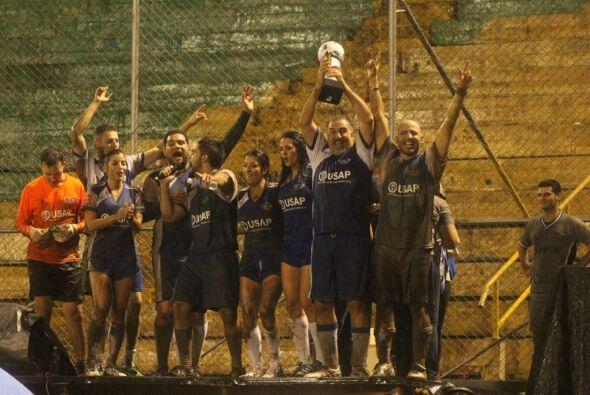 Pero el equipo se llevó la copa. Cortesía: Nicolas Fries.