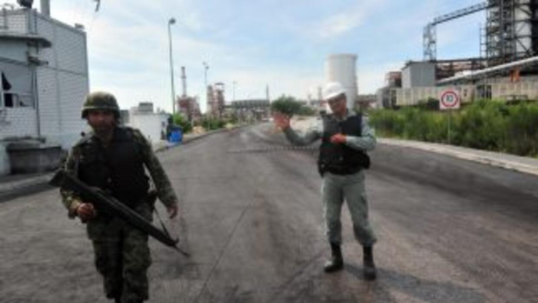 Un total de 13 presuntos integrantes del cártel de los Zetas fueron dete...