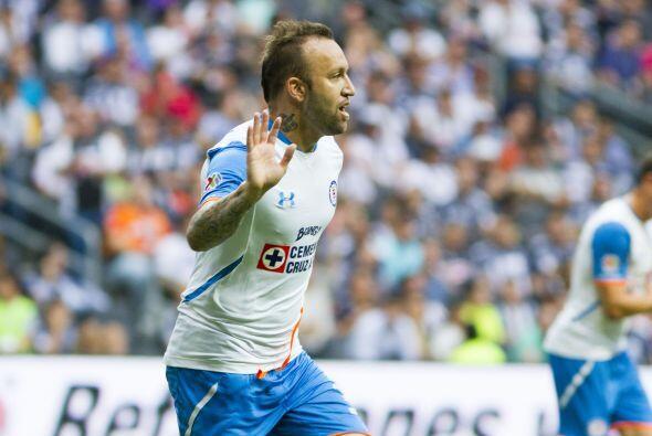 Hasta el momento Matías Vuoso ha sido el referente en el ataque de Cruz...