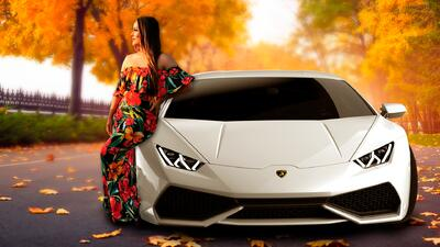 Conoce el Lamborghini con el que se pasea ex de Lupillo Rivera por L.A.