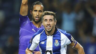En fotos: Héctor Herrera anotó su primer gol de la temporada durante triunfo del Porto