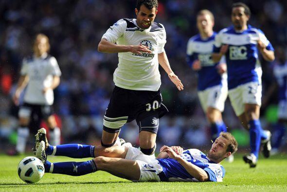 Finalmente el Tottenham chocó ante el Birmingham.