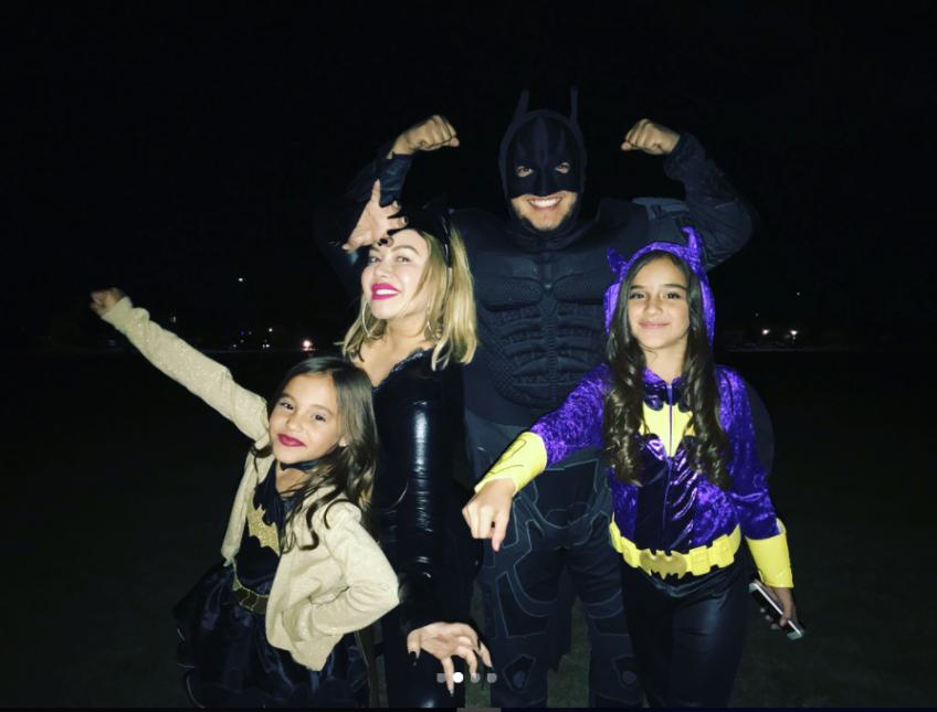 Chiquis Rivera e hijas de Lorenzo Méndez