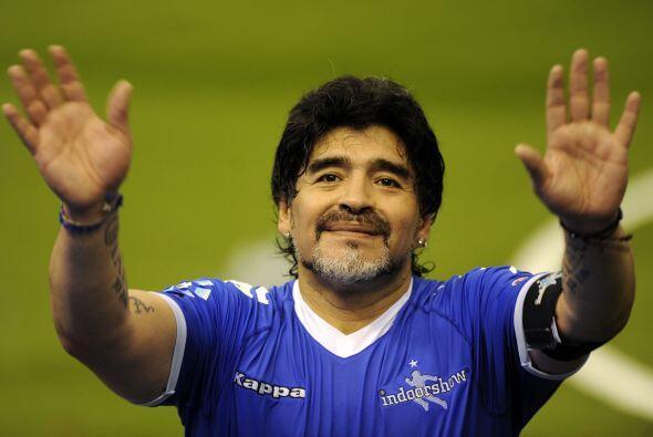 También se habla del pleito casado con Diego Armando Maradona con quien...