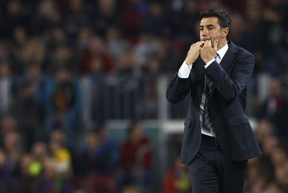 Michel, técnico del Getafe, se la pasó silbando en el duelo de su club a...