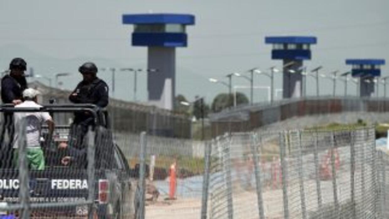 La prisión mexicana de El Altiplano, de donde se fugó en julio pasado Jo...