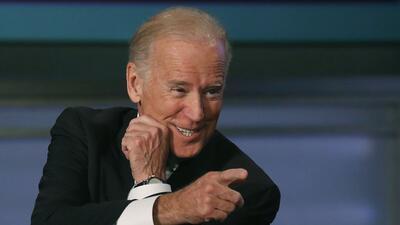 Vicepresidente Joe Biden en la Universidad George Washington