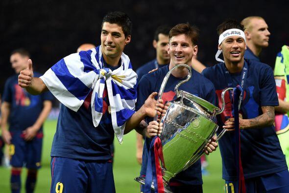 Un héroe sin goles, así fue Messi en la pasada final de la Liga de Campe...