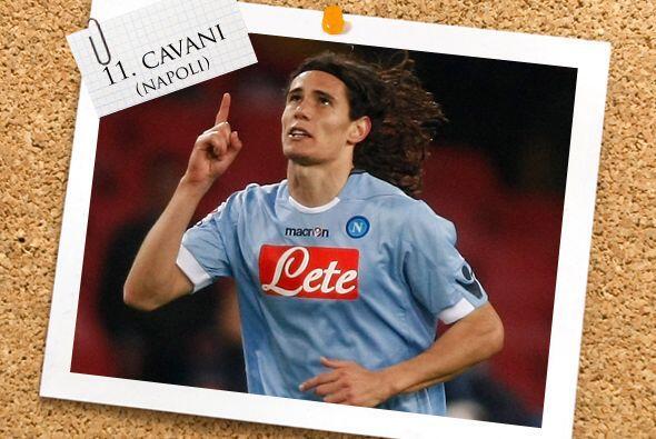 Y un constante de nuestro Once ideal es el uruguayo Edinson Cavani.