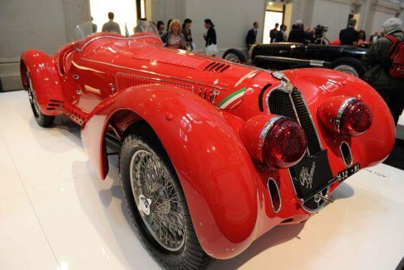 Alfa Romeo Alfa Romeo 8C 2900, que compitió en la Mille Miglia de 1938.