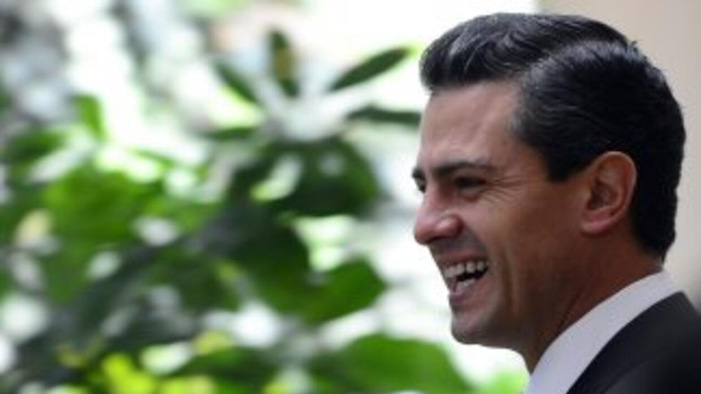 Enrique Peña Nieto, del Partido Revolucionario Institucional (PRI).