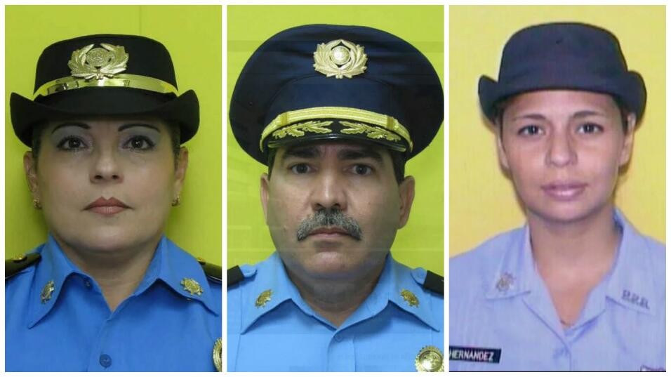 Tres agentes murieron a manos de otro en un suceso que ha consternado al...