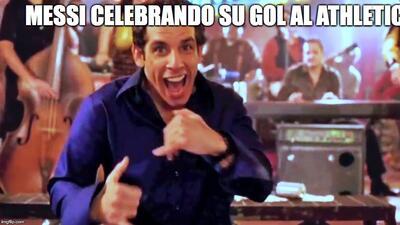 El baile de Messi y más divertidos memes del triunfo del Barcelona ante el Bilbao